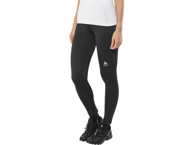 Odlo Sliq Leggings Dames, black